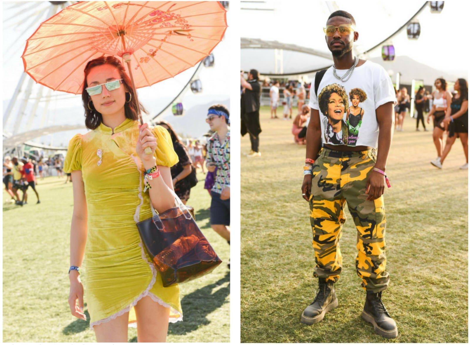 Trending fashion colour yellow