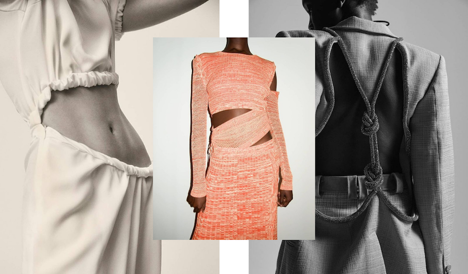 Fashion Trends 2021- cut out clothing