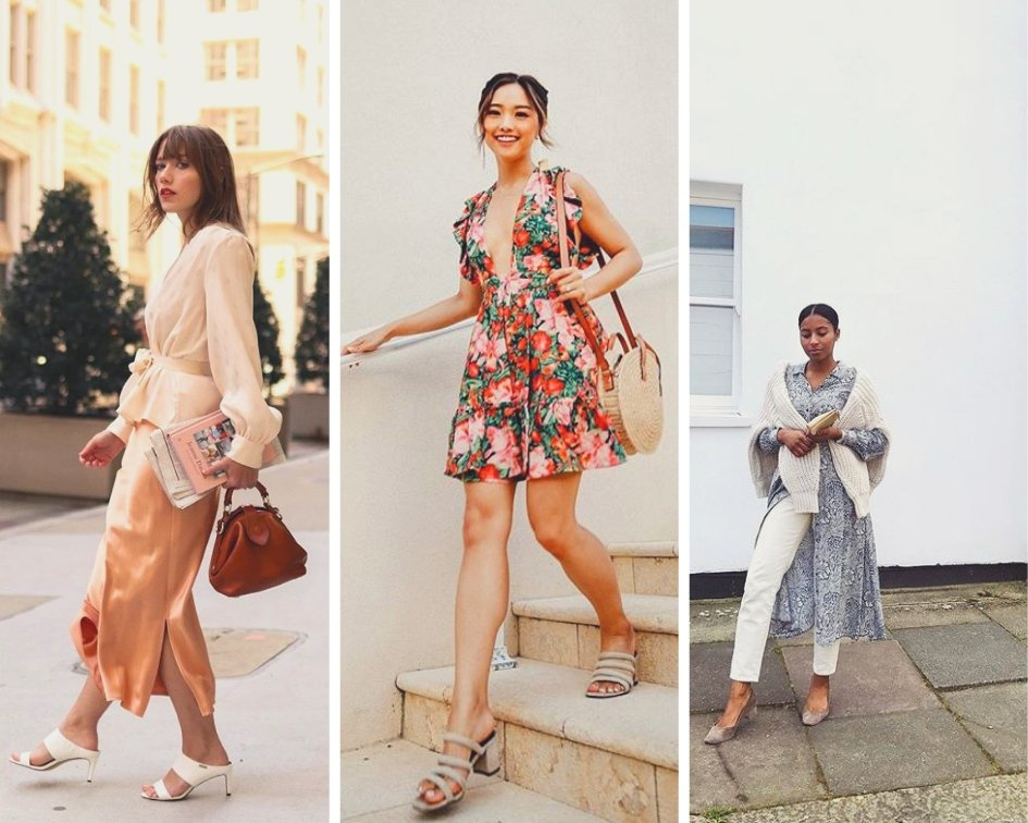 Fashion style trends with the mule heel