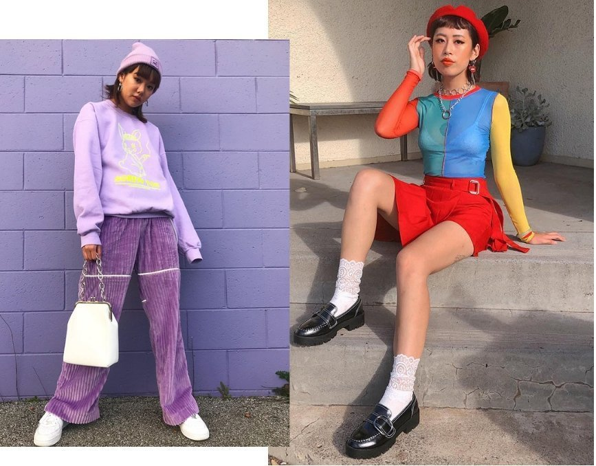 Use colour to make a fashion style statement of your own