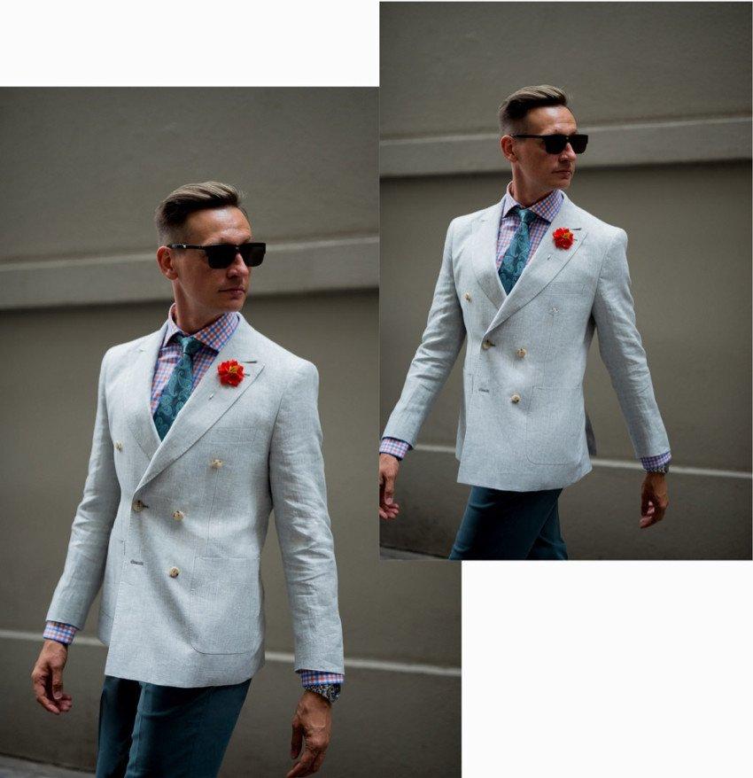 Grant Fellowes Modelling Peter Jackson