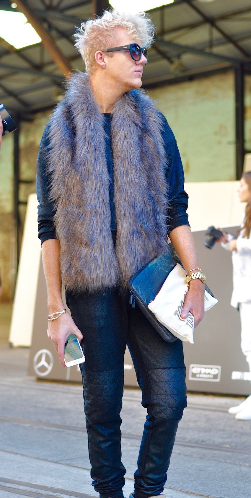 hottest trends from Mercedes-Benz Fashion Week Australia - faux fur