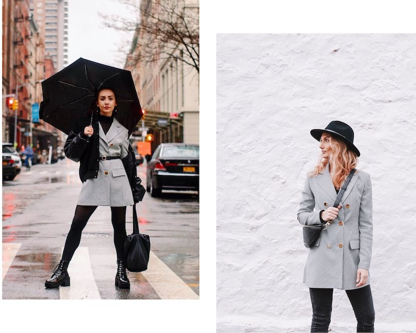 Instagrammers wearing House of Campbell garments