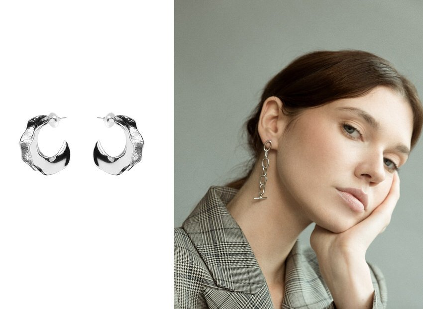 Statement earrings help reinvent womens fashion even for your corporate wardrobe