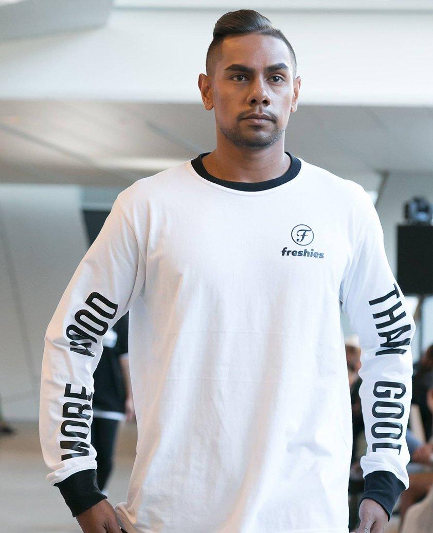 Desing by Aboriginal fashion designer Jaeden Williams