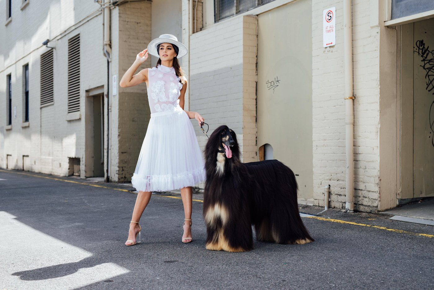 Adrianna & Rymer model Jonté Designs to welcome in the Year of the Dog