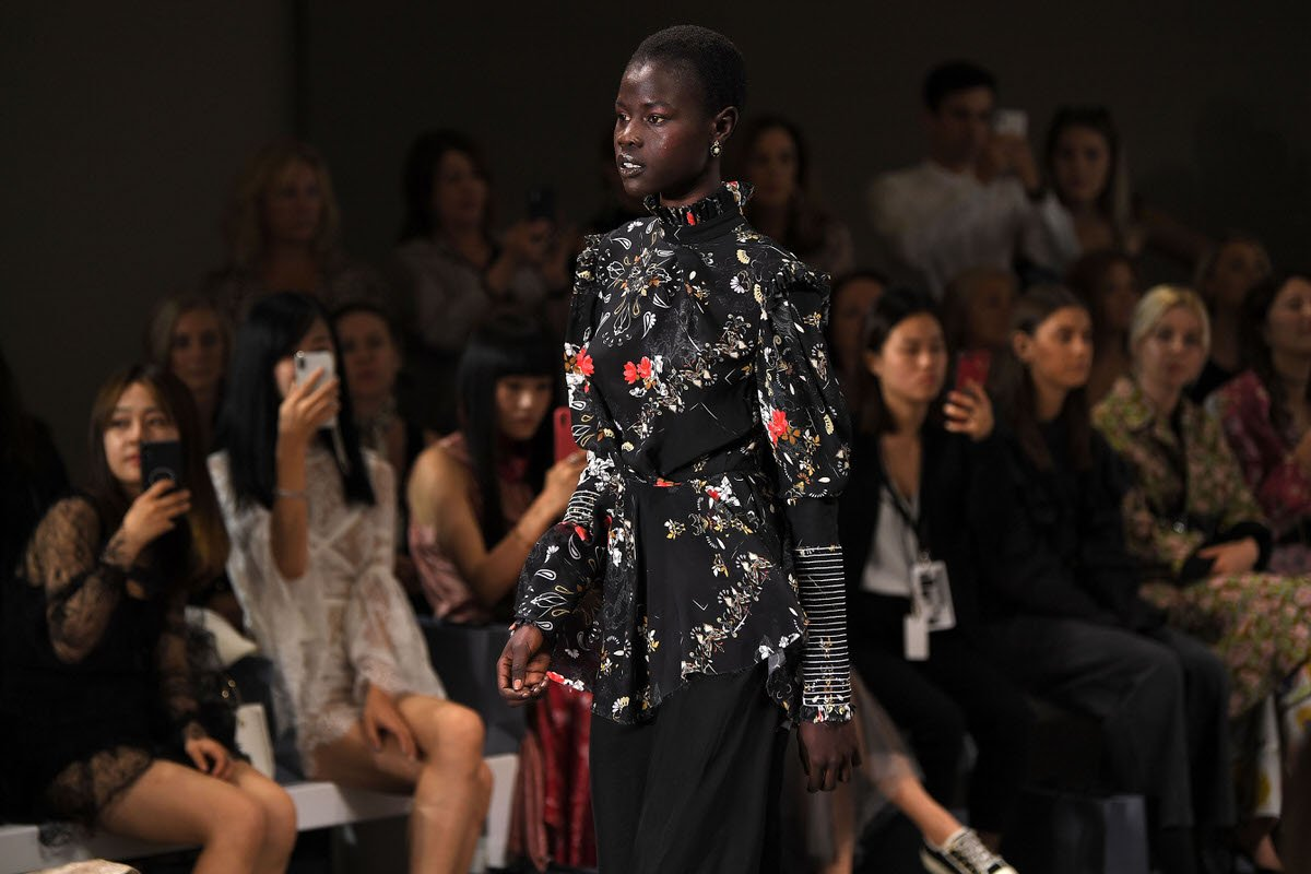 LEO & LIN womens fashion runway at MBFWA