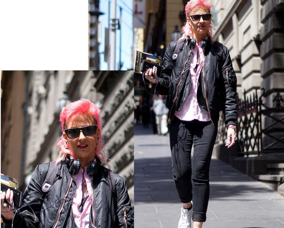 Street style photos by Hannah Guyer