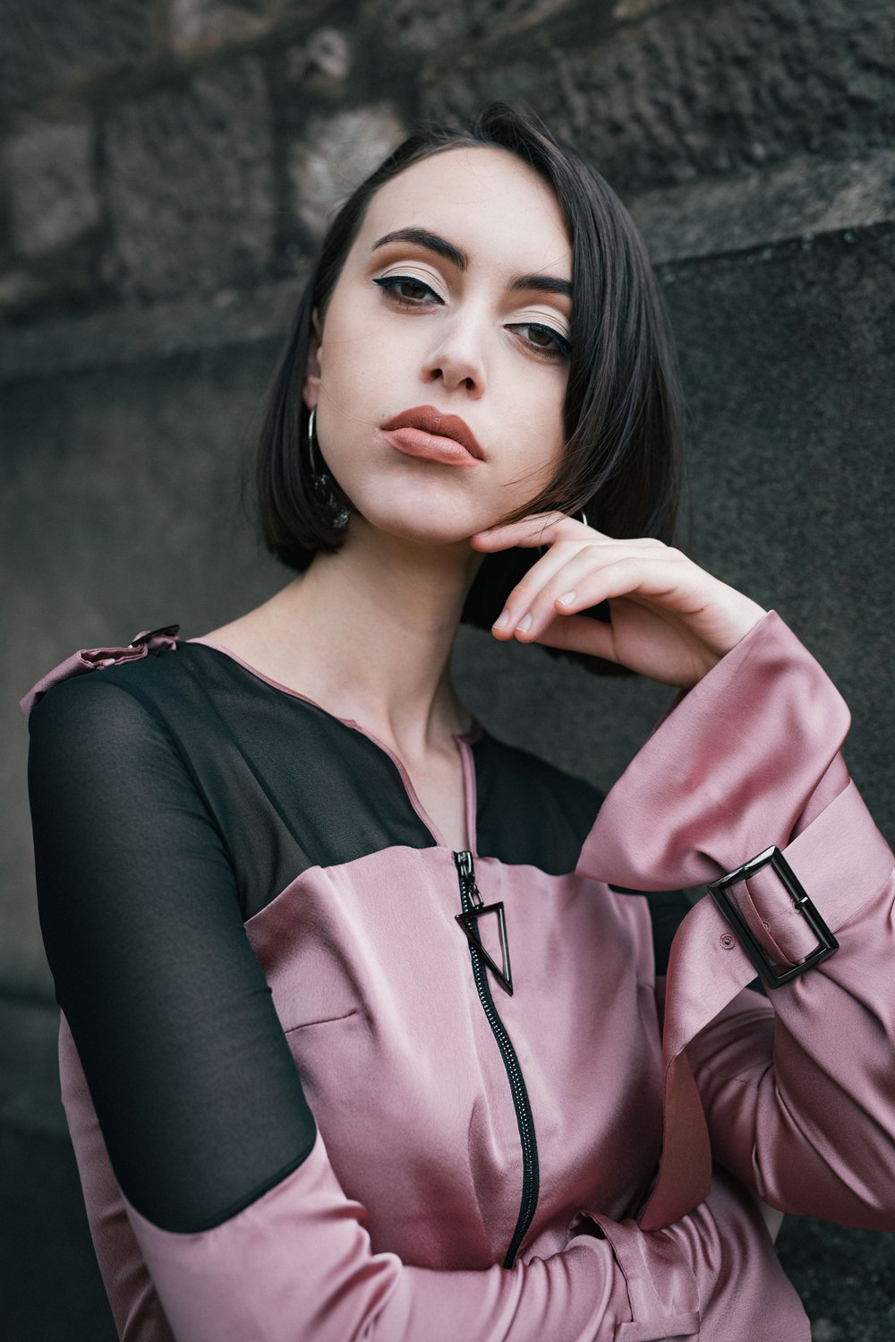 Katharine Ahern models Lucid Label to welcome in the Year of the Dog