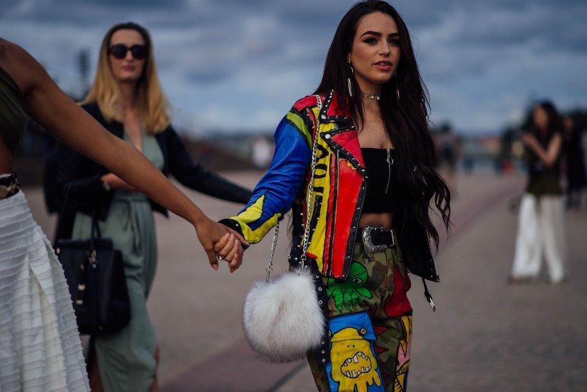 Fashion Week Australia - Street Style at the Sydney Opera House