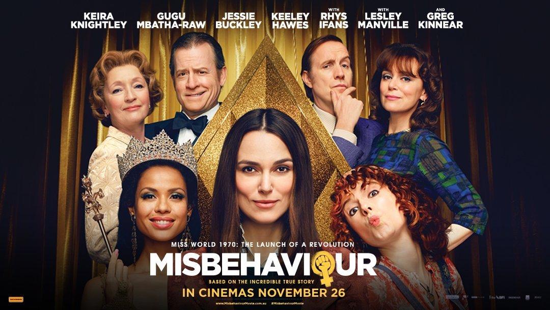 Cast of Misbehaviour the movie