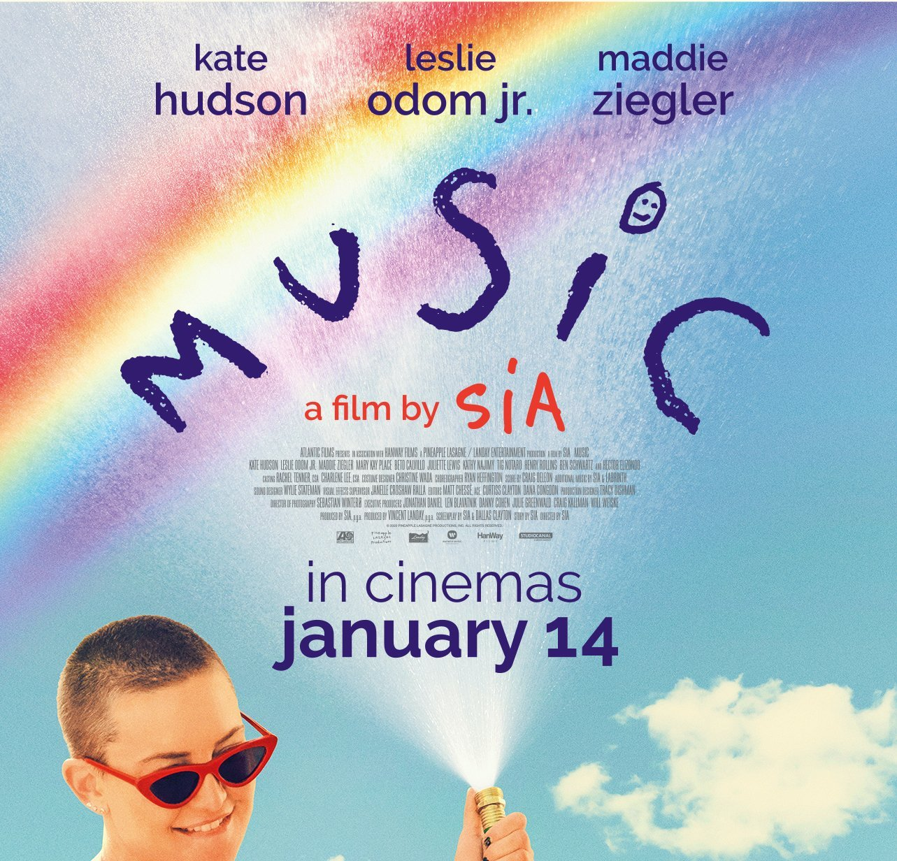 MUSIC the movie musical by Sia