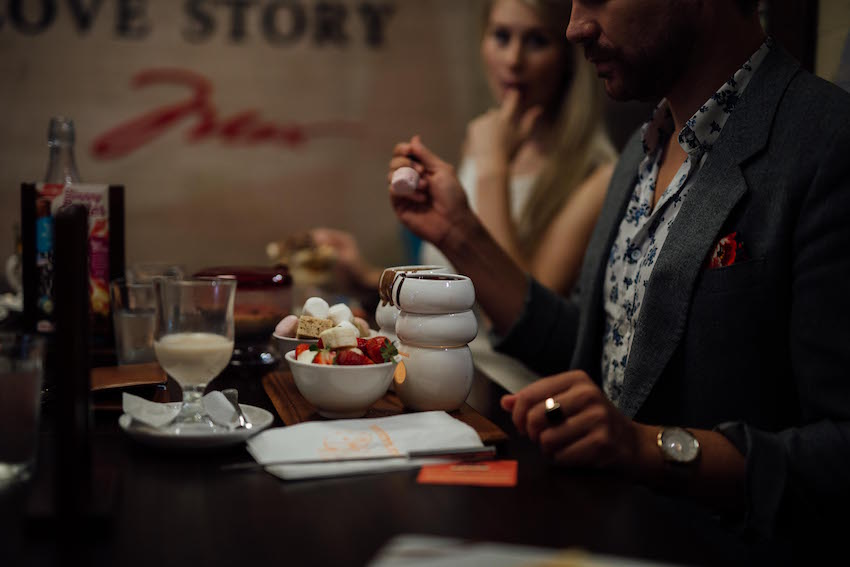 Max Brenner Chocolatier Fondue For Two