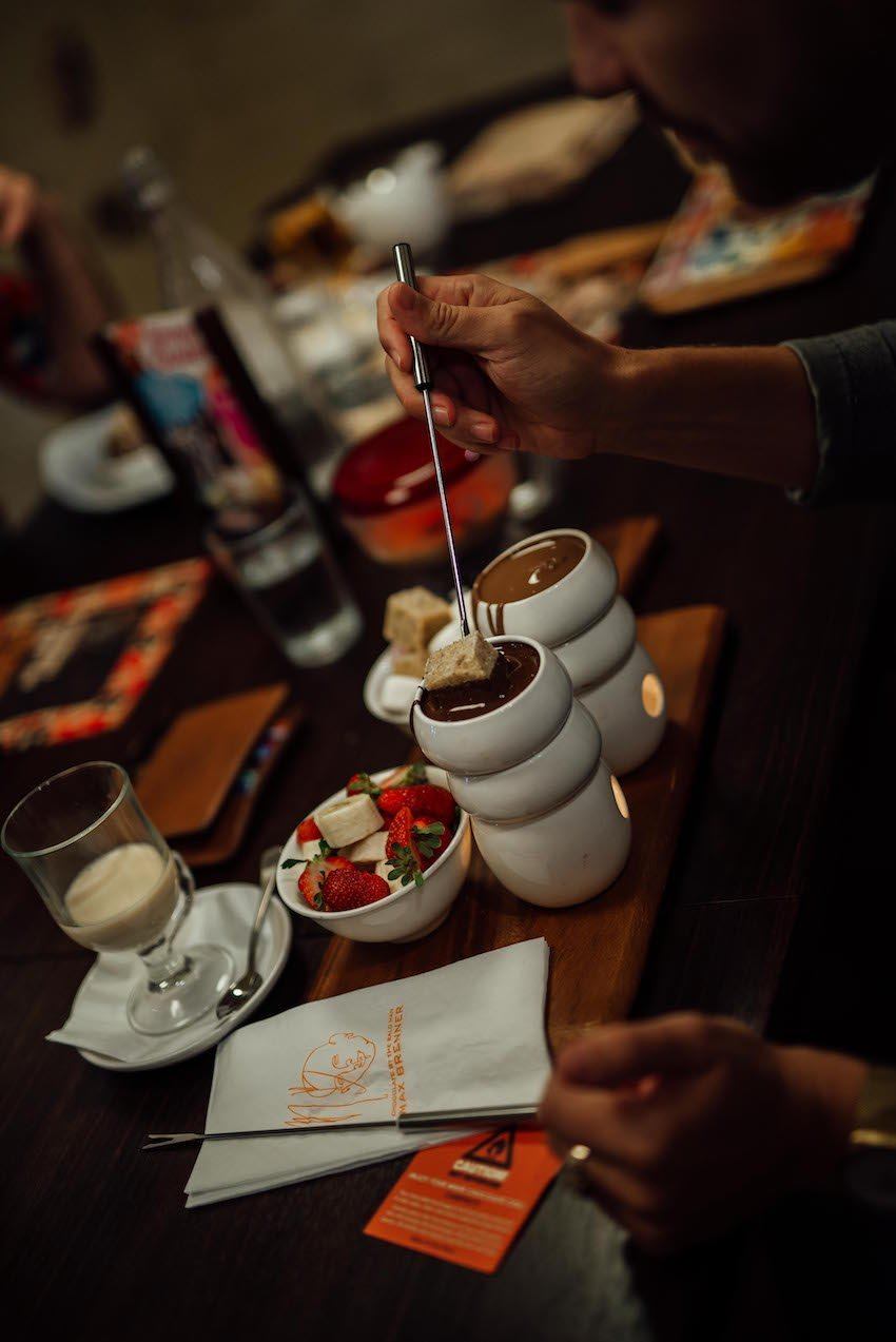 Max Brenner Fondue for Two Road Test