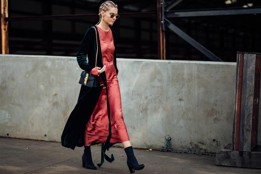 Best street style Mercedes-Benz Fashion Week Australia