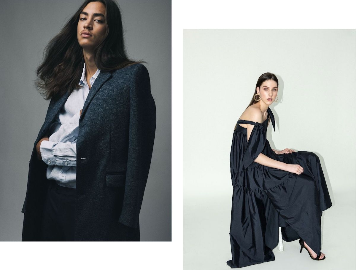 Models posing in studio shoots by Fashion Stylist - Adelaide - Michelle Beltrame