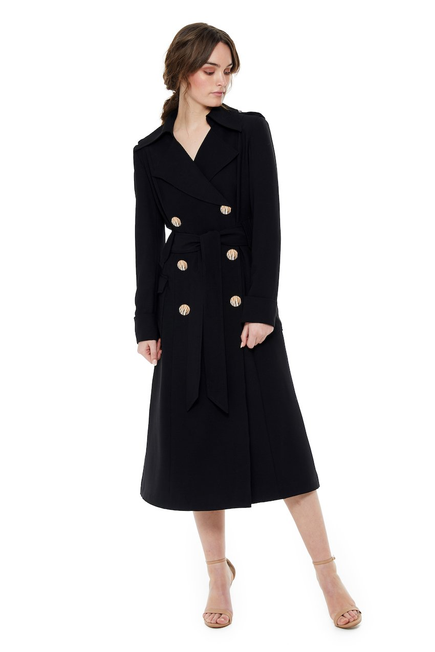 Georgy Collection Milana Trench
