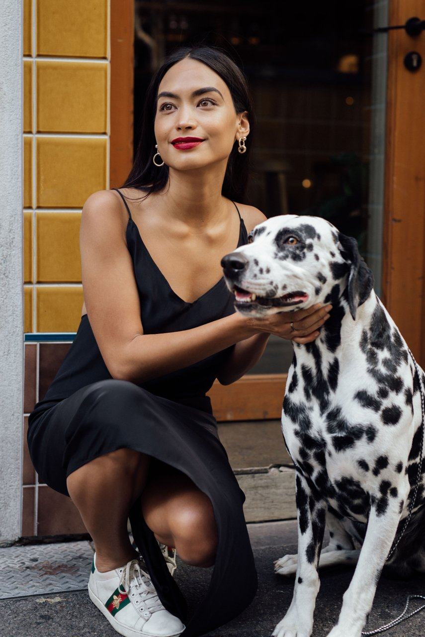 Millicent Elizabeth, Year of the Dog Shoot with Dalmation