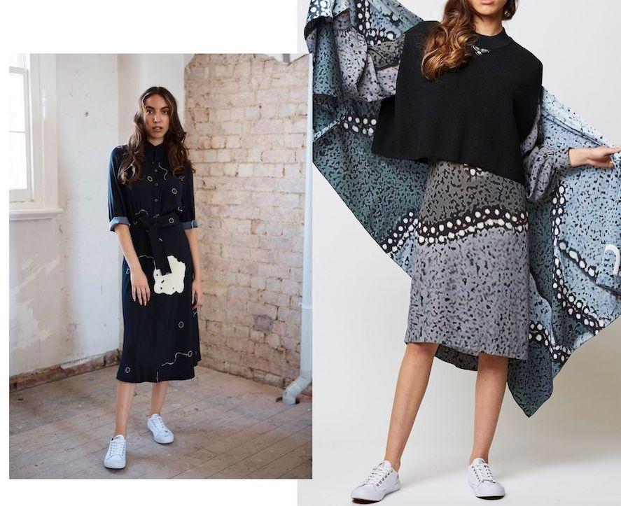Australian Indigenous Fashion Design Ngali