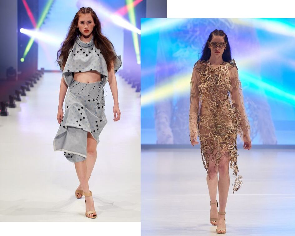 Emerging fashion designers- student runway