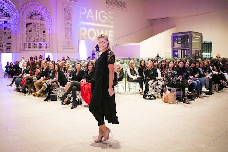 Paige Rowe 2017 launch