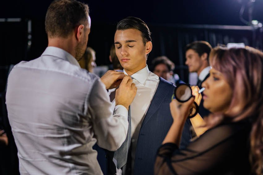 Behind the Scenes at Parker & Co International Mens Runway, Perth Fashion Festival