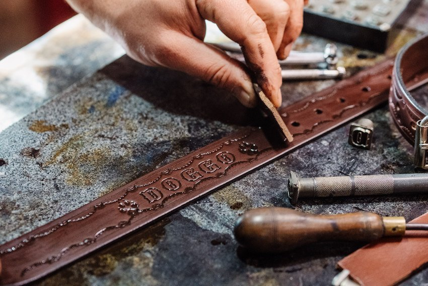 Leather working - Hahndorf