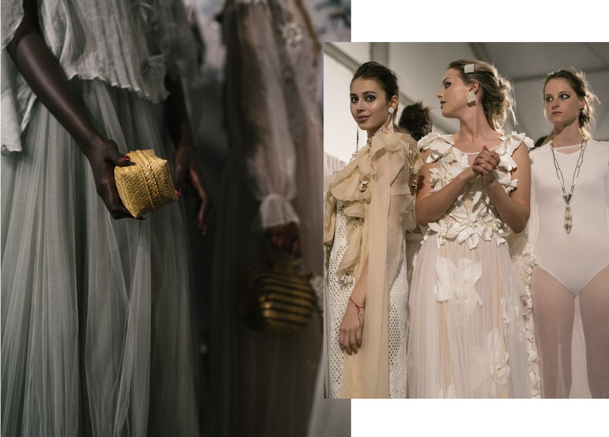 Backstage at PFF