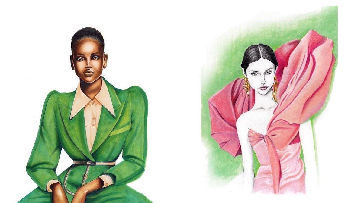 Fashion Illustration by Petar Prodanovic