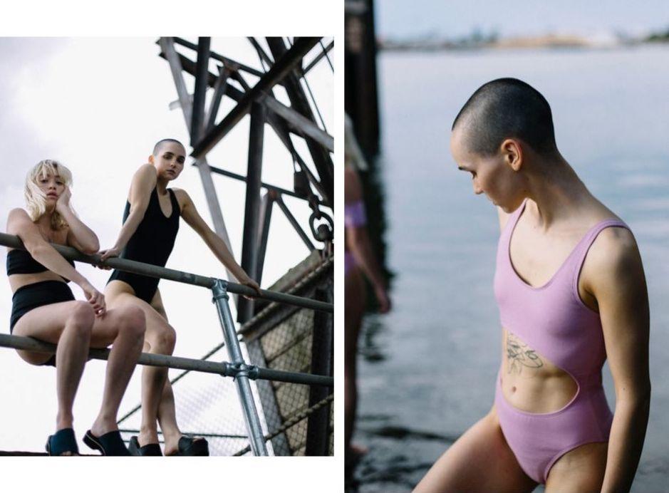 Natalie Ivanov's slow fashion label Re-Swim Club