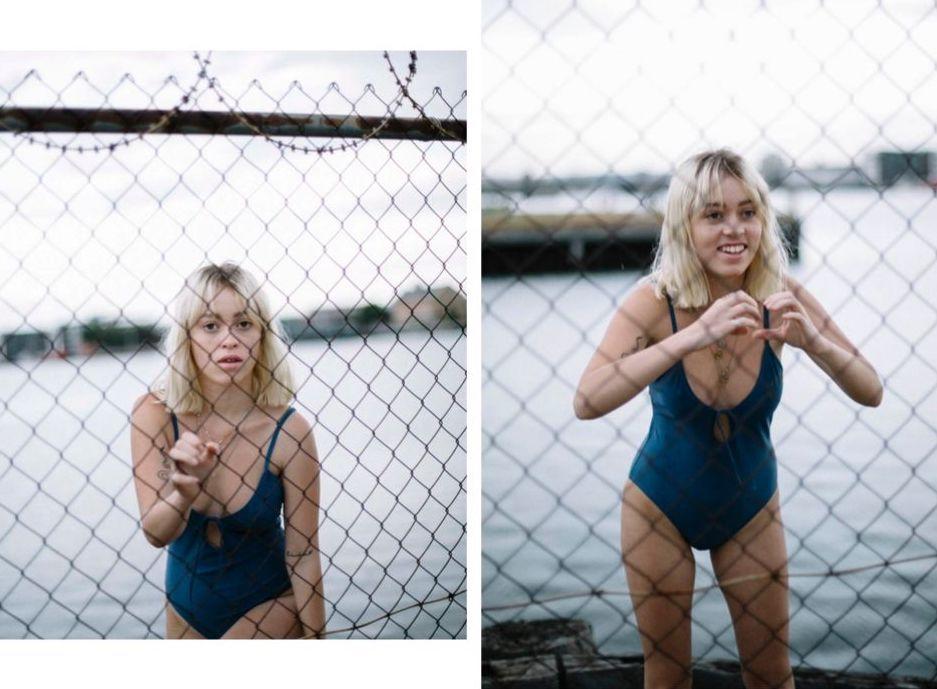 Natalie Ivanov's label - Re-Swim Club