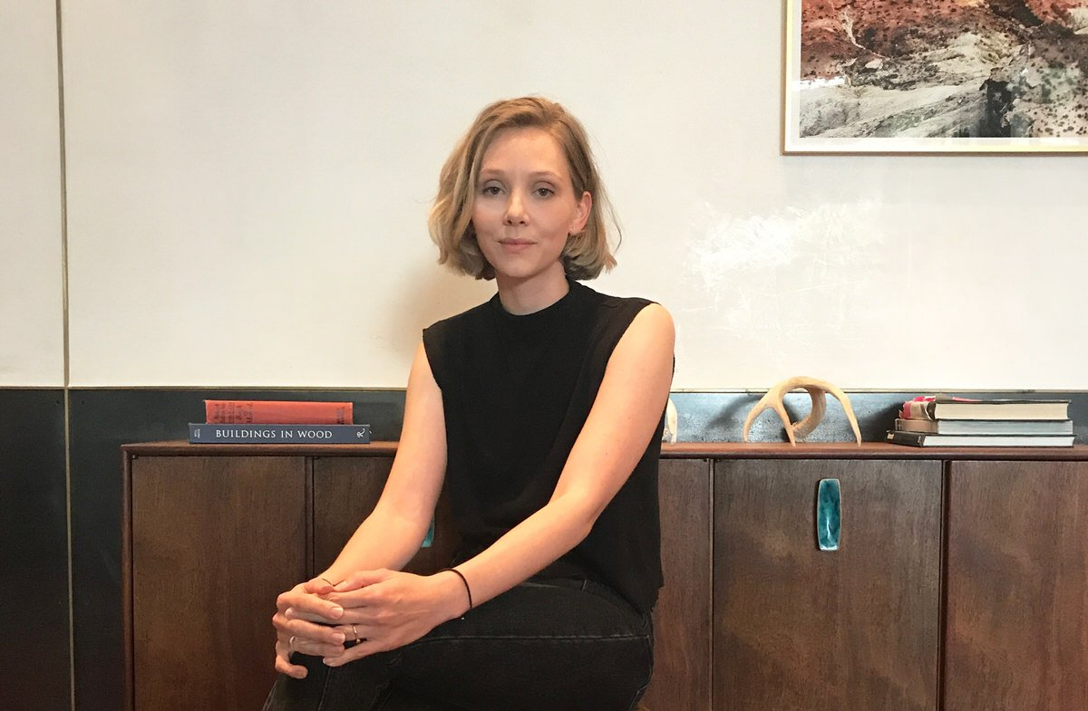 Australian designer Courtney Holm