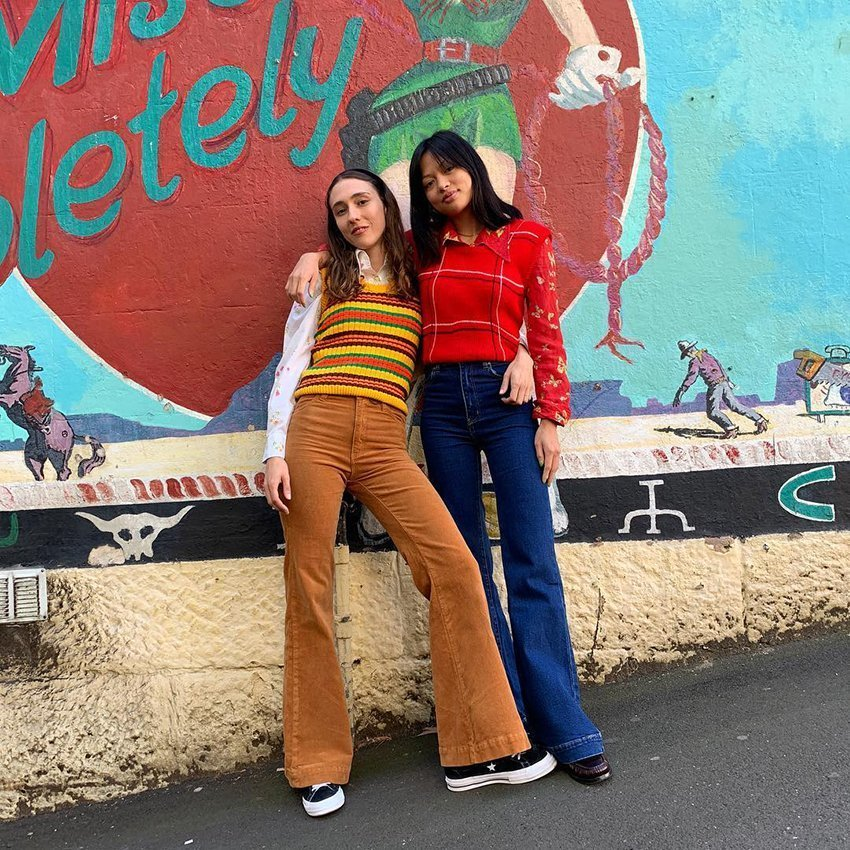 Vintage fashion style from Route 66