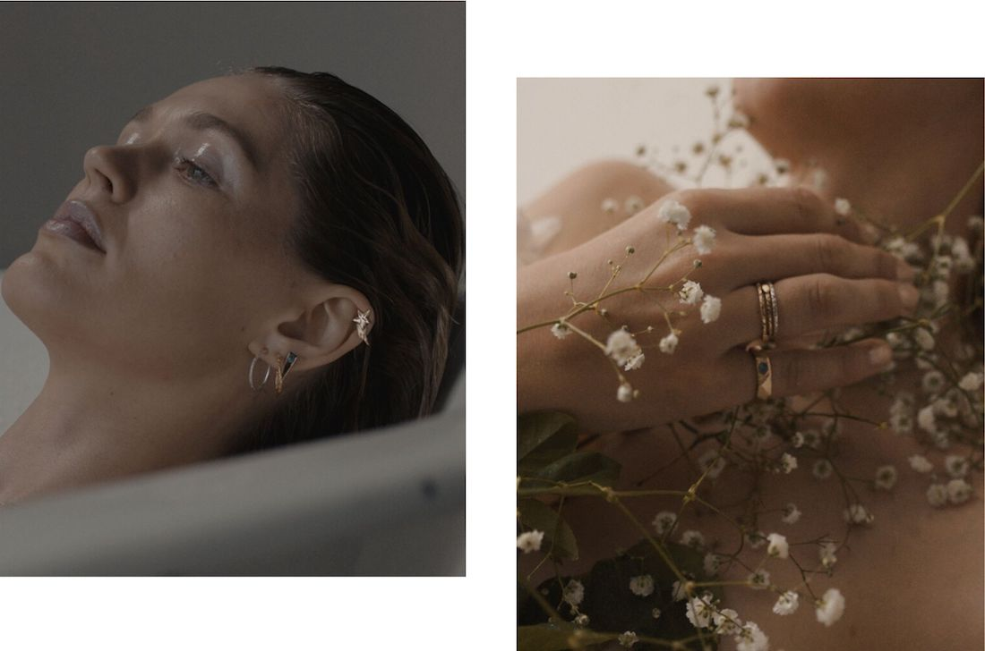 AFC Curated designer Serpent and the Swan Jewellery