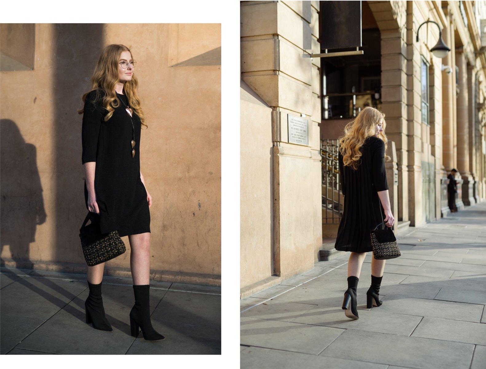 Tahlia Strawbridge models winter looks for the Myer Centre Adelaide