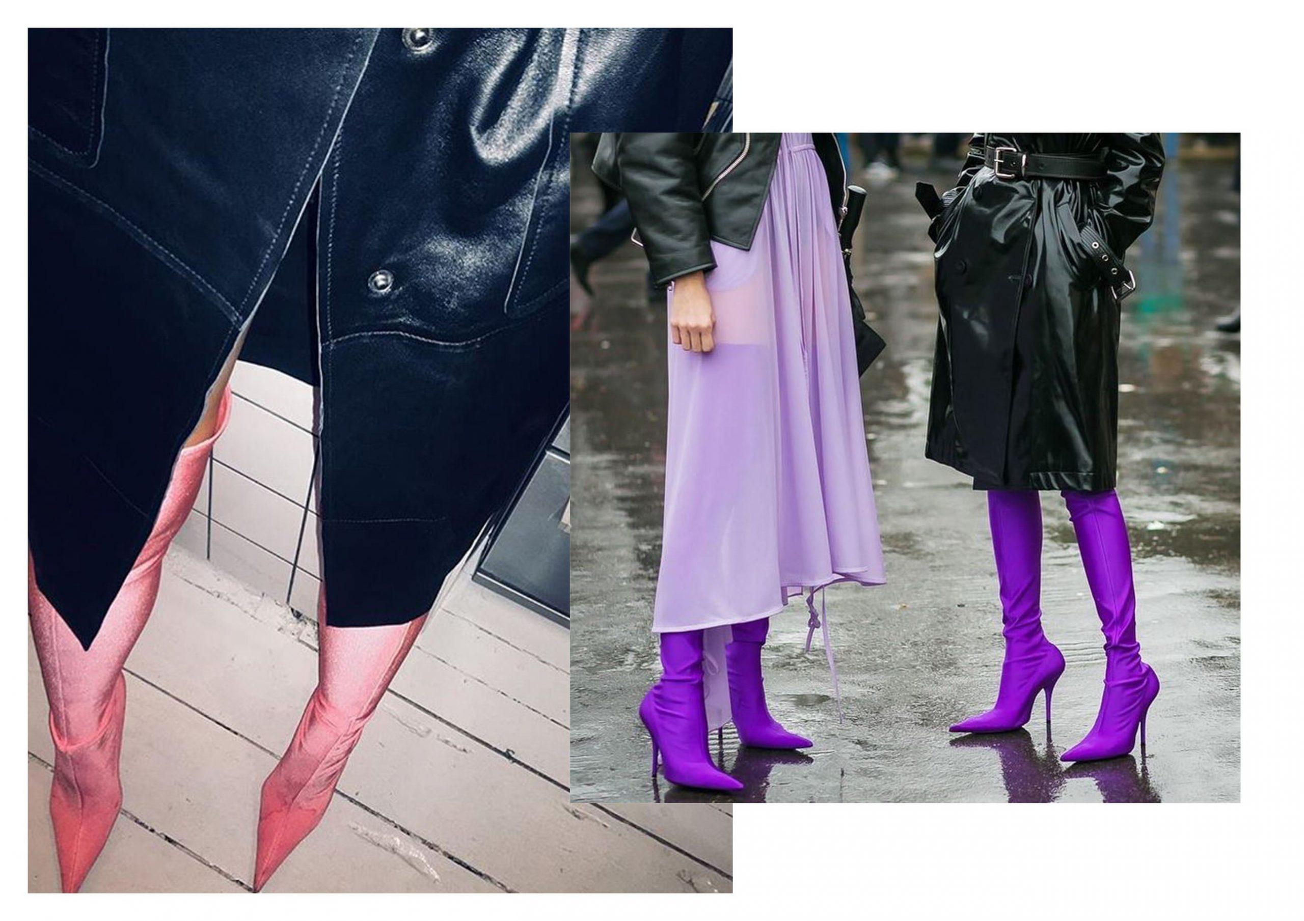 sock boot trend