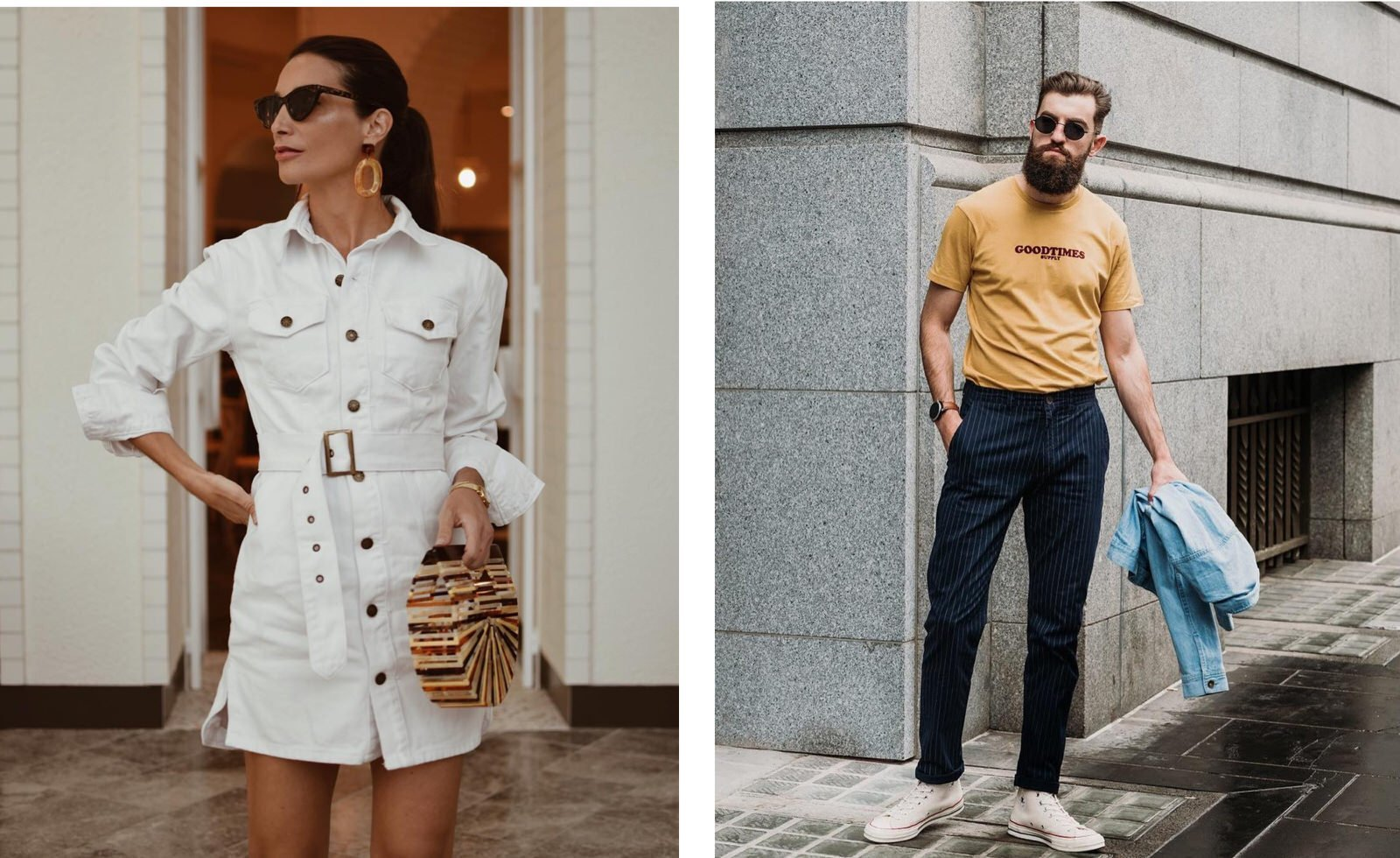 Local street style trend