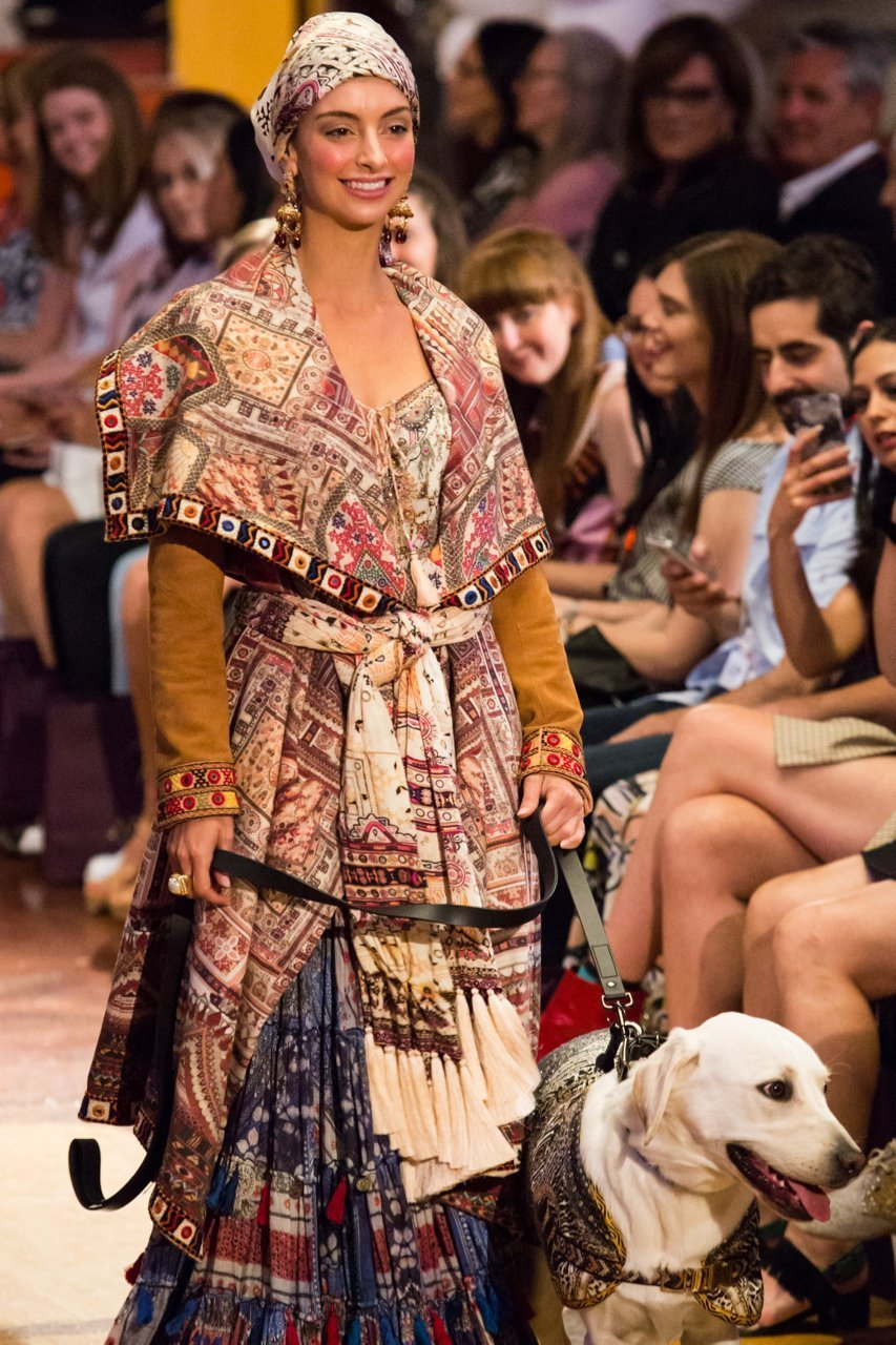 Diamond Dogs runway at VAMFF