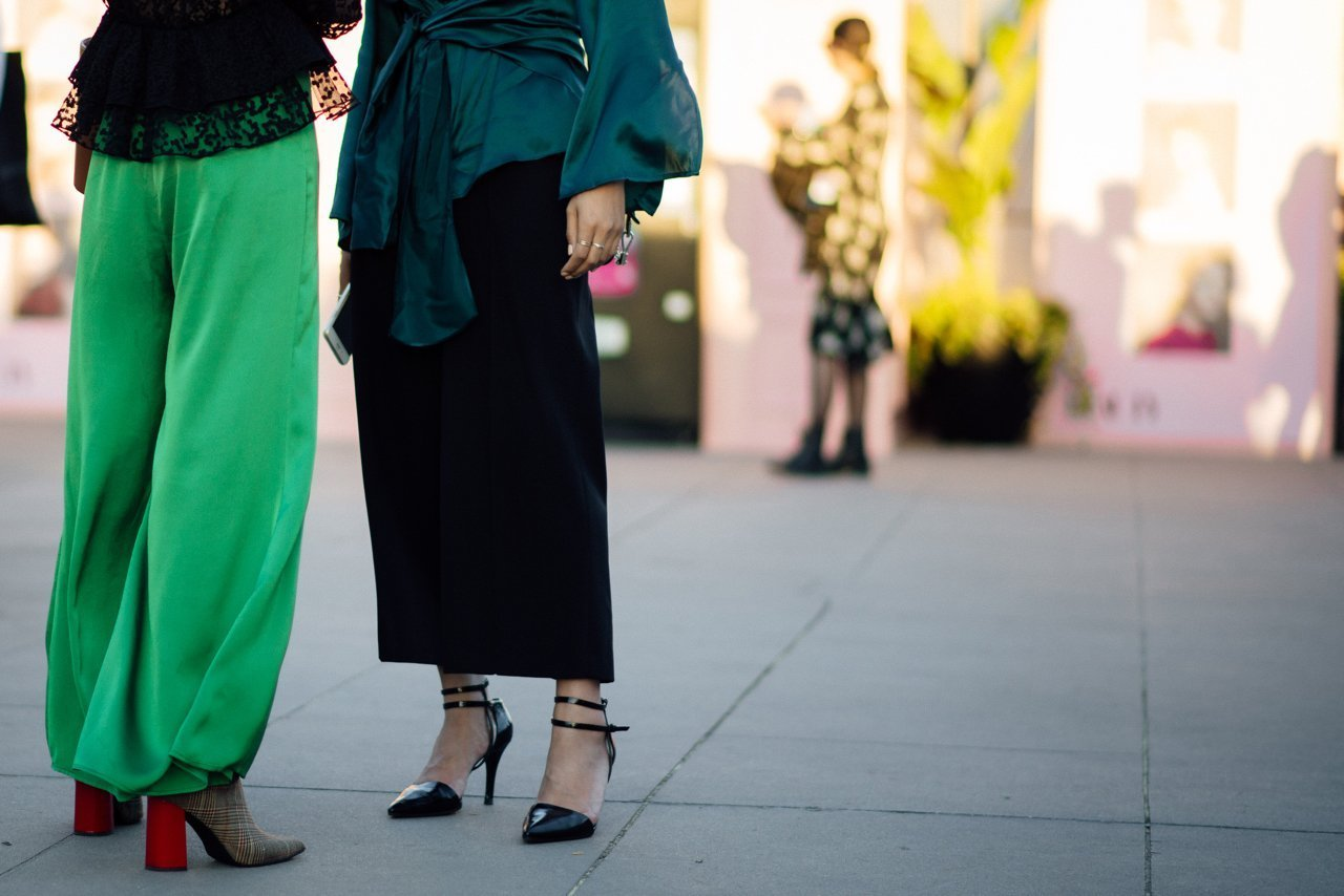 street style moments from VAMFF 2018