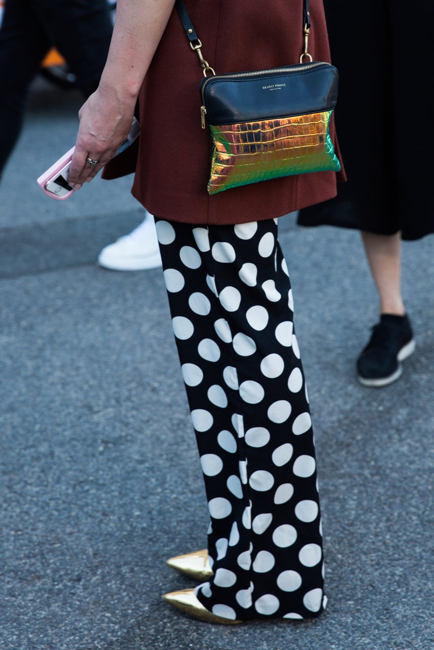 Street Style & off-runway trends at VAMFF 2018