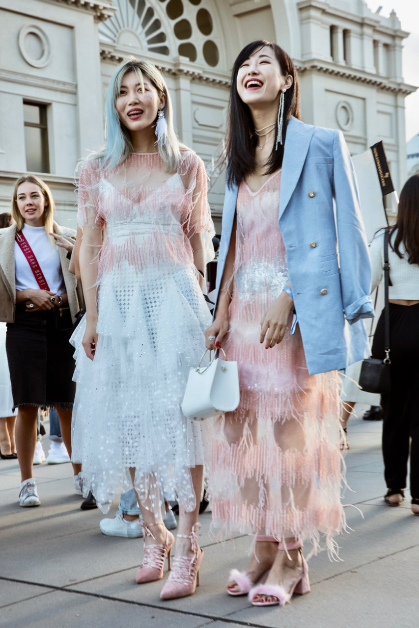 Street style trends from VAMFF 2019
