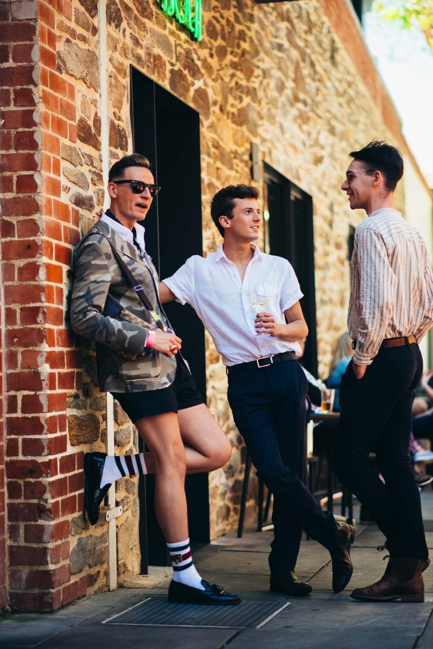 Street Style at the Vogue Festival Wrap Party