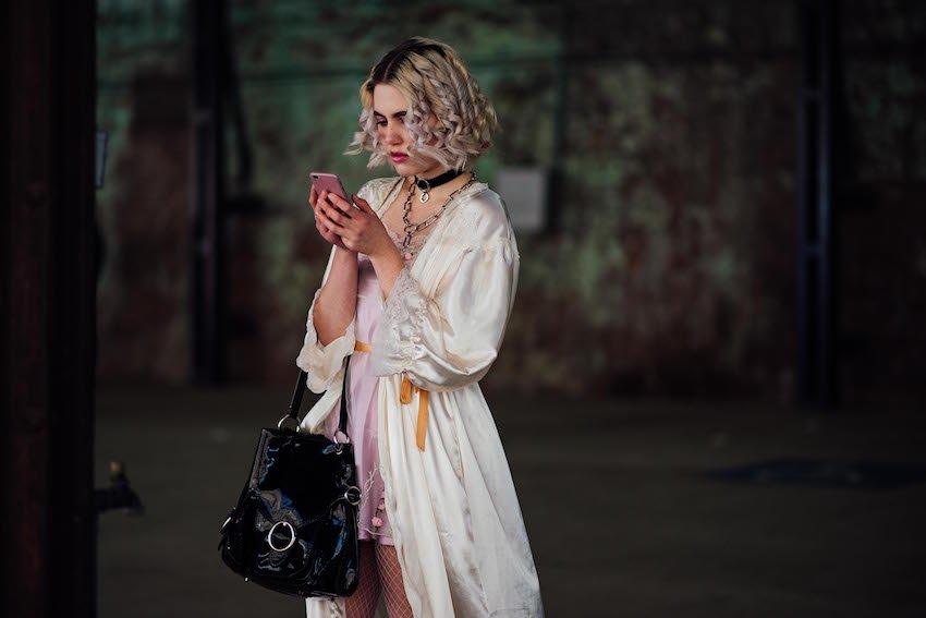 Mercedes-Benz Fashion Week Australia Wednesday Street Style scene