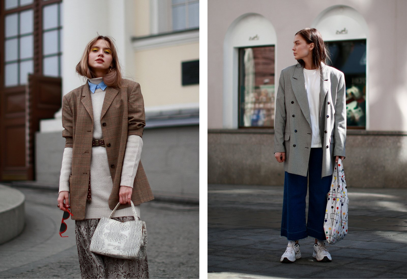 street style trends from Moscow