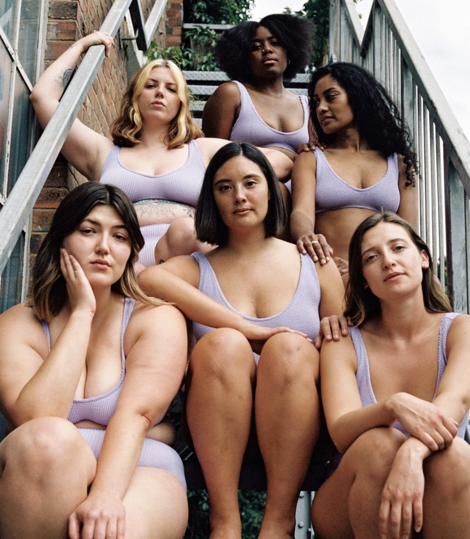 Swimwear for diverse body shapes