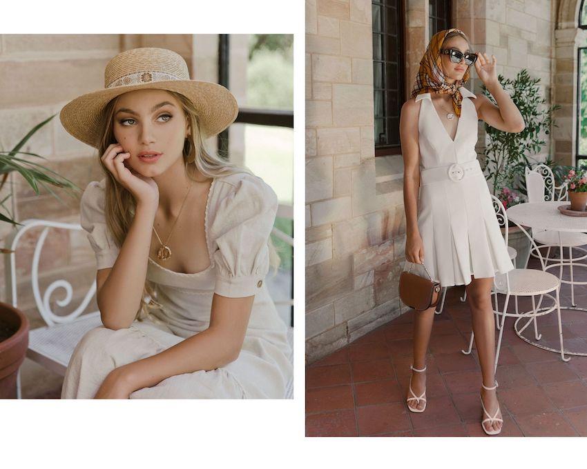 Fashion editorial styling