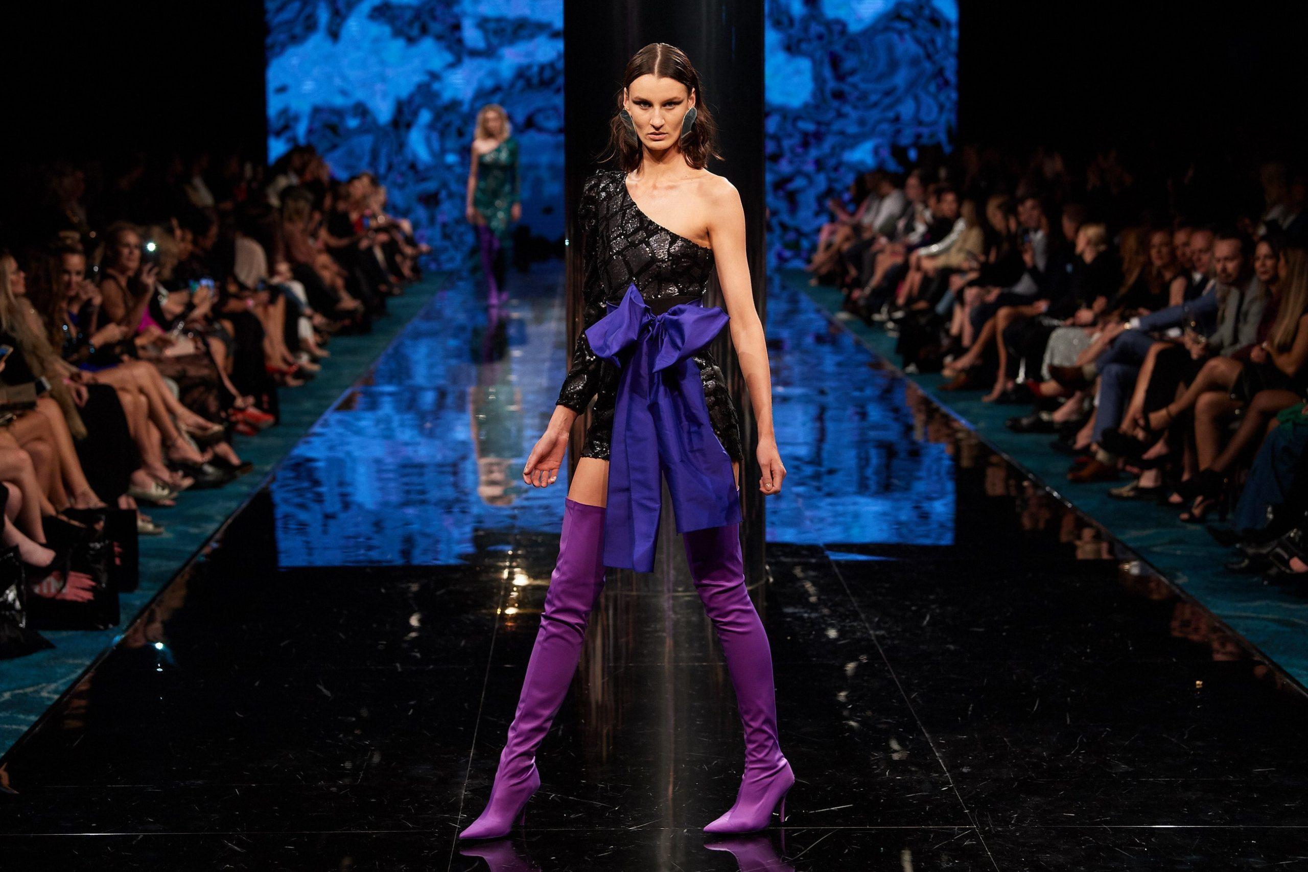 ae'lkemi on the Runway at the Telstra Perth Fashion Festival