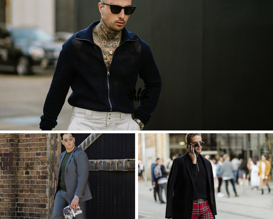 mens trends at MBFWA- Sunglasses are indispensable