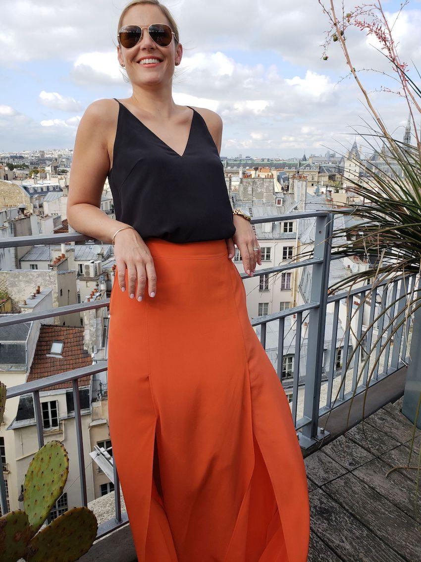 Natalie Watt in Paris