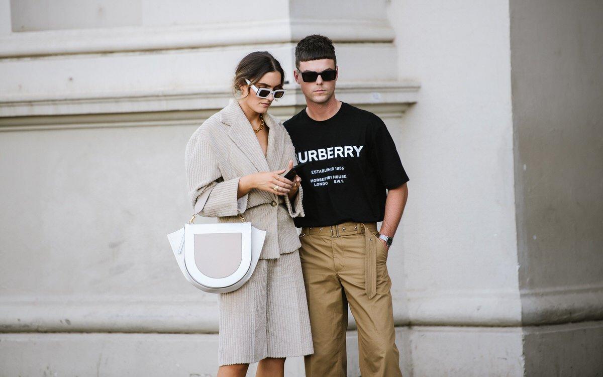 Stylish man & woman